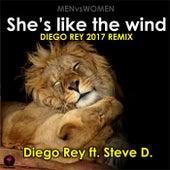 MENvsWOMEN 2017 - She's like the wind (feat. Steve D.) di Diego Rey