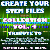 Create Your Stem Files Vol 4 ( Special Instrumental tracks with separate sounds & Remix Versions) [Tribute To The Chainsmokers-Avicii Etc..] van Express Groove