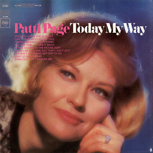 Today My Way by Patti Page