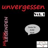 Musik Legenden - Unvergessen, Vol. 1 (Danke für EURE Musik) de Various Artists
