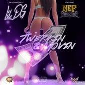 Twerkin & Movin (feat. Nef the Pharaoh) de Lil Dg