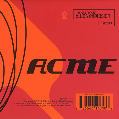 Acme (Deluxe) by Jon Spencer