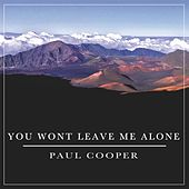 You Won't Leave Me Alone by Paul Cooper