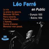 Léo Ferré (Live) (26 Succès de 1955 - 1958) de Leo Ferre
