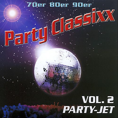 70er 80er 90er Party Classixx - Vol. 2 Party Jet by Yoyo Partymusic