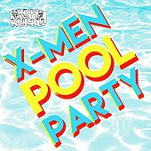 X-Men Pool Party by Kirby Krackle