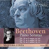 Beethoven: Piano Sonatas, Vol. 10 by Sequeira Costa