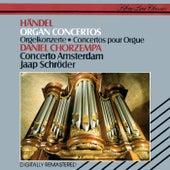 Handel: Organ Concertos Nos. 5, 6, 8, 11 & 13 de Jaap Schröder