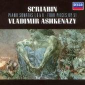 Scriabin: Piano Sonatas Nos. 1, 6 & 8; 4 Pieces Op.51 de Vladimir Ashkenazy