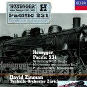Honegger: Symphony No. 2; Pacific 231; Pastorale d'été; Rugby; Monopartita; Mouvement symphonique No. 3 von David Zinman