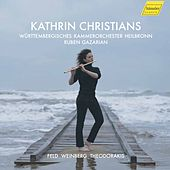 Feld, Theodorakis & Weinberg: Works for Flute & Orchestra by Kathrin Christians