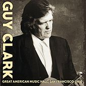 Great American Music Hall, San Francisco 1988 by Guy Clark