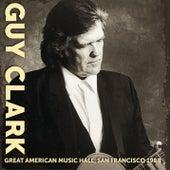 Great American Music Hall, San Francisco 1988 de Guy Clark