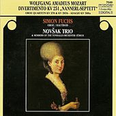 MOZART, W.A.: Divertimento No. 11 / Oboe Quartet, K. 370 / Flute Quartet No. 3 / Adagio in C major (Fuchs, Novsak Trio) by Simon Fuchs