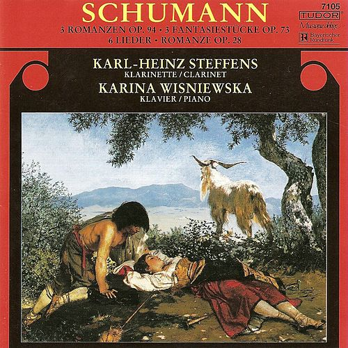 SCHUMANN, R.: 3 Romanzen, Op. 94 / Fantasiestucke / 5 Pieces in Folk Style / Myrthen (Steffens, Wisniewska) by Various Artists