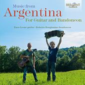 Music from Argentina for Guitar and Bandoneon de Enea Leone