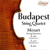 The Budapest String Quartet Plays Mozart by Budapest String Quartet