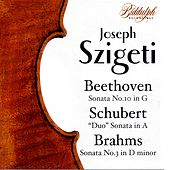 Joseph Szigeti Plays Beethoven, Schubert, and Brahms de Joseph Szigeti