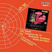 Haydn: Symphony No. 93 - Hindemith: Symphony 'Mathis der Maler' by NBC Symphony Orchestra