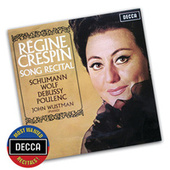 Song Recital - Schumann, Wolf, Debussy, Poulenc von Various Artists