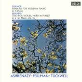 Franck: Violin Sonata / Brahms: Horn Trio de Vladimir Ashkenazy