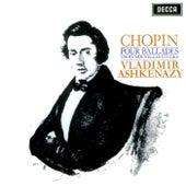 Chopin: Four Ballades; Trois Nouvelles Etudes de Vladimir Ashkenazy