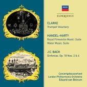 Clarke: Trumpet Voluntary · Handel: Royal Fireworks Music / Water Music · JC Bach: Symphonies by Eduard Van Beinum