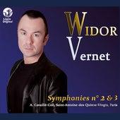 Widor: Symphonies Nos. 2 & 3 by Olivier Vernet
