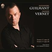 Guilmant: Sonates pour orgue Nos. 1 & 5 von Olivier Vernet