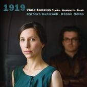 Clarke & Hindemith & Bloch: 1919  Viola Sonatas by Barbara Buntrock and Daniel Heide