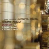 Pour Clarinette: Hindemith, Debussy, Trojahn & Poulenc (Live) de Various Artists