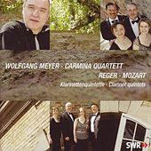 Mozart & Reger: Clarinet quintets by Wolfgang Meyer