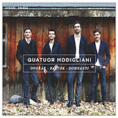 Dvorák, Bartók & Dohnányi de Quatuor Modigliani