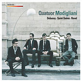 Debussy . Saint Saëns . Ravel de Quatuor Modigliani