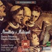 Balsamino: Novellette A 6 Voci / Monteverdi: Combattimento Di Tancredi E Clorinda von Marco Beasley