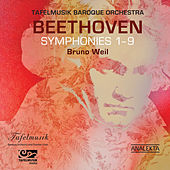 Beethoven: Symphonies 1 -9 de Tafelmusik Baroque Orchestra