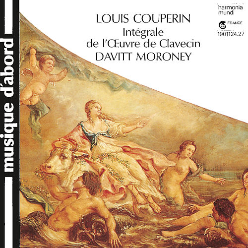 Couperin: Complete Harpsichord Works by Davitt Moroney