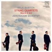 Belá Bartók: String Quartets Nos. 2, 4, & 6 de Jerusalem Quartet