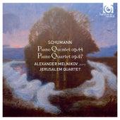 Schumann: Piano Quintet, Op.44 & Piano Quartet, Op.47 de Alexander Melnikov and Jerusalem Quartet