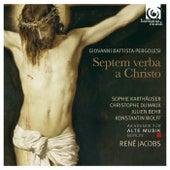Pergolesi: Septem verba a Christo de Various Artists
