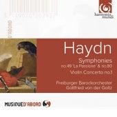 Haydn: Symphonies No. 49 & No. 80, Violin Concerto No. 1 by Gottfried von der Goltz and Freiburger Barockorchester