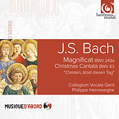 Bach: Magnificat, BWV 243a & Christmas Cantata, BWV 63 by Various Artists