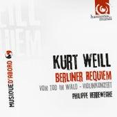 Weill: Das Berliner Requiem by Various Artists