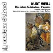 Weill: Die sieben Todsünden & Chansons von Various Artists