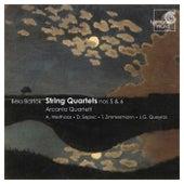 Bartók: String Quartets No.5 & 6 by Arcanto Quartett