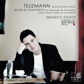 Telemann: Blockflöten-Werke by Maurice Steger and Akademie für Alte Musik Berlin