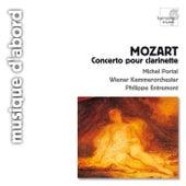 Mozart: Concerto pour clarinette K.622 de Wiener Kammerorchester and Michel Portal Philippe Entremont
