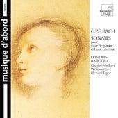 C.P.E. Bach: Sonatas for Viola da Gamba and Continuo von Various Artists