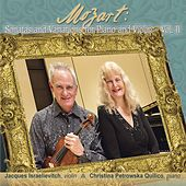 Mozart: Sonatas and Variations for Piano and Violin, Vol. 2 by Jacques Israelievitch