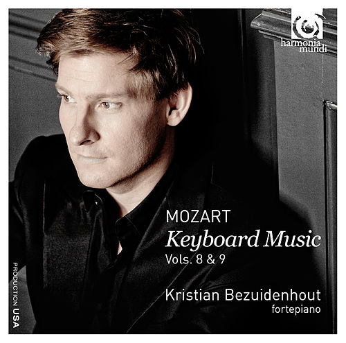 Mozart: Keyboard Music Vols. 8 & 9 by Kristian Bezuidenhout